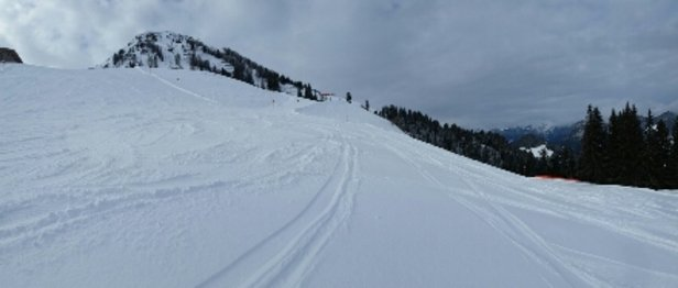 Söll - SkiWelt - Slightly overcast today,  and nothing but fresh powder on all runs. - © russbmw