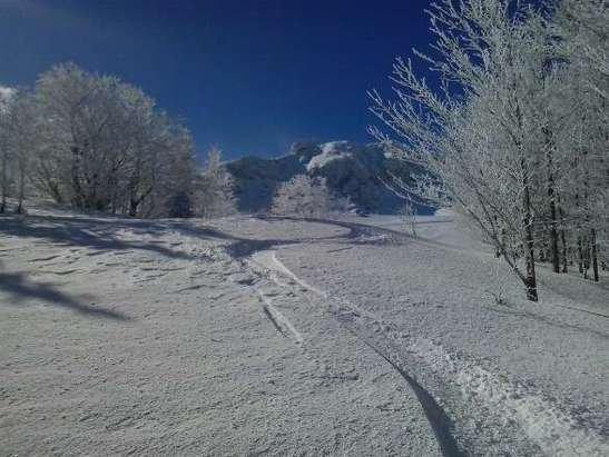 Les Monts d'Olmes - tres bonne neige  - © francisarcens