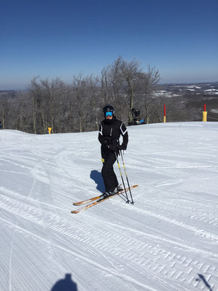Winterplace Ski Resort - No crowds great snow  - © John's iPhone