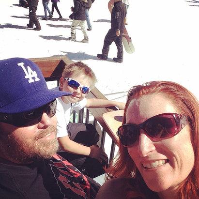 Bear Mountain - Amazing Sunday in Big Bear!!  - © Baker's iPhone