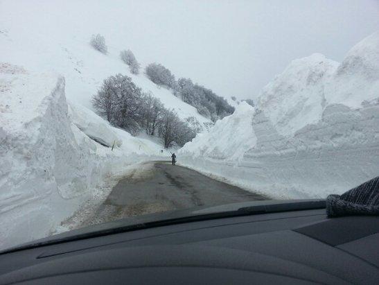 Sarnano - Domenica 8 marzo.  - © robivalelucio