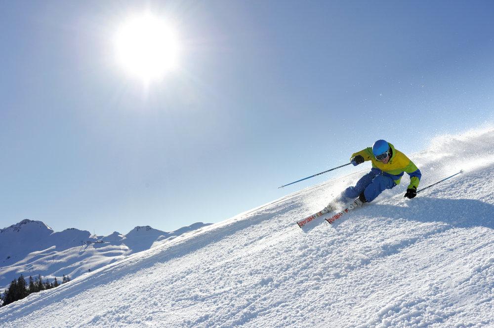 Bei diesen Abfahrten macht der Powder richtig Spaß! - © www.hoch-ybrig.ch