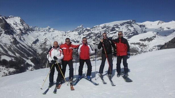 Gressoney-La-Trinité - Monterosa Ski - Piste e tempo spettacolari - © Riccardo