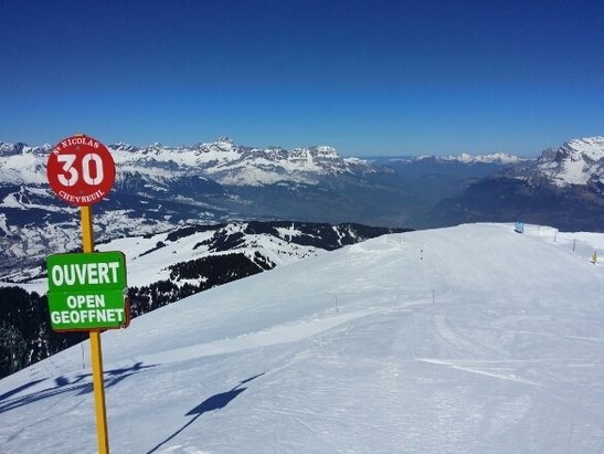 Megeve - Nice and sunny - © Ivan