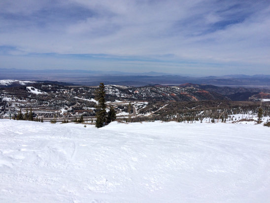 Brian Head Resort - Top of Giant Steps.  - © Ben's iPhone