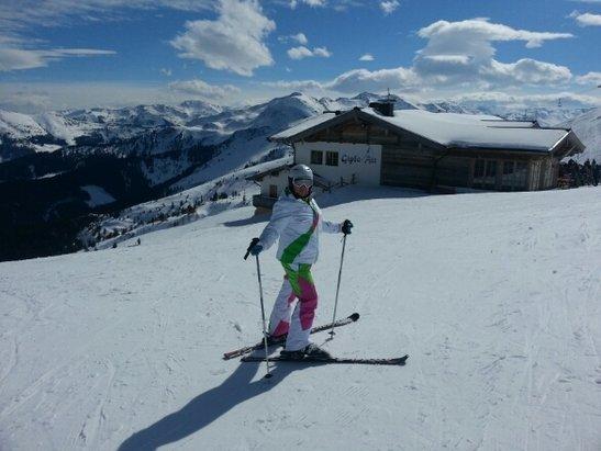 Alpbach - Ski Juwel Alpbachtal Wildschönau - trotz Sonne satt gute Verhältnisse da wenig los ist - © ralphgliewe