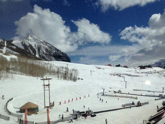 Crested Butte Mountain Resort - View From The Axtel Building - © iPhone