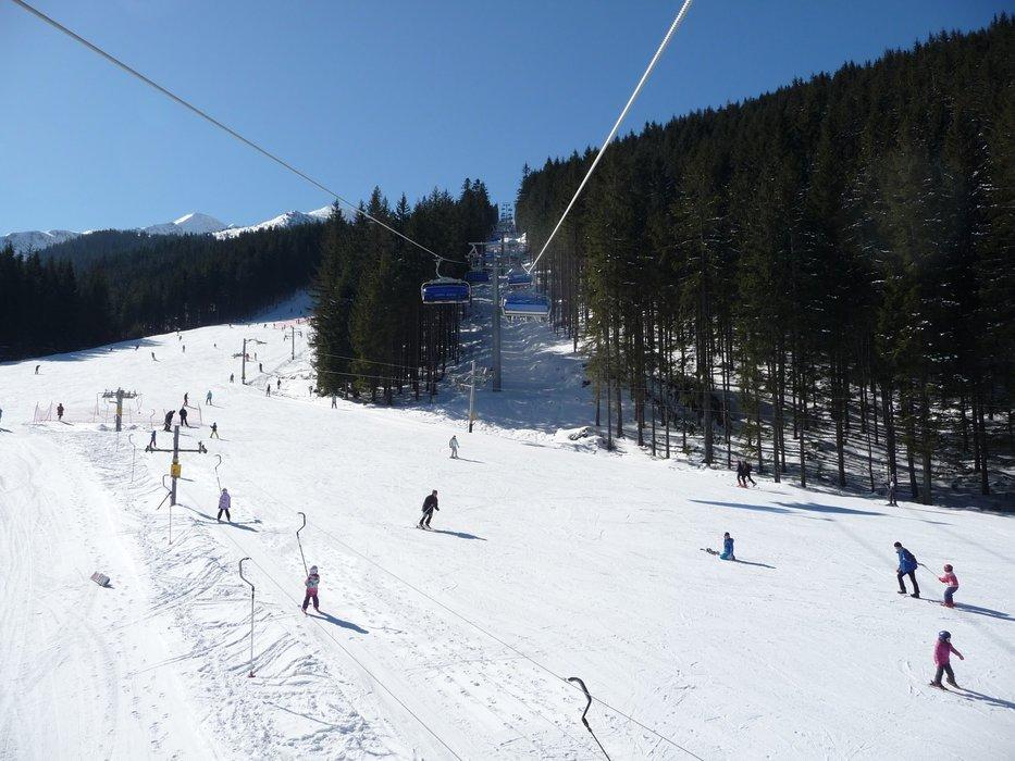 Lyžiarske stredisko Roháče - Spálená sa od sezóny 2014/15 môže pochváliť novou 6-sedačkovou odpojiteľnou lanovkou! - © Matej Petőcz