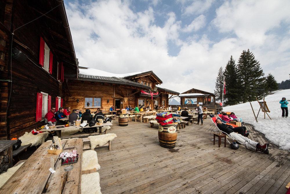 Alte Schwendi Hütte in Davos Klosters - © Skiinfo