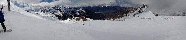 Les Orres - Neige encore très bonne en haut ... - © jm.varenne