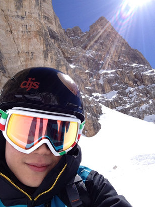 Cortina d'Ampezzo - very bottom portion of the slope is slightly wet, but still great!!! - © Kimmmy
