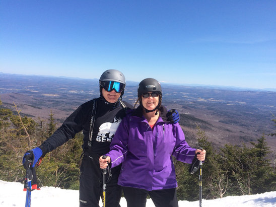 Smugglers' Notch Resort - [! skireport_firsthandpost_pagetitle ] - © Mary Ellen Walker's iPho