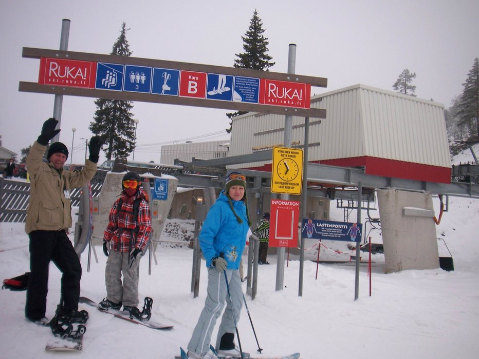 Start | Dima, Ilya, Lena - ©Olsen | ujin666 @ Skiinfo Lounge