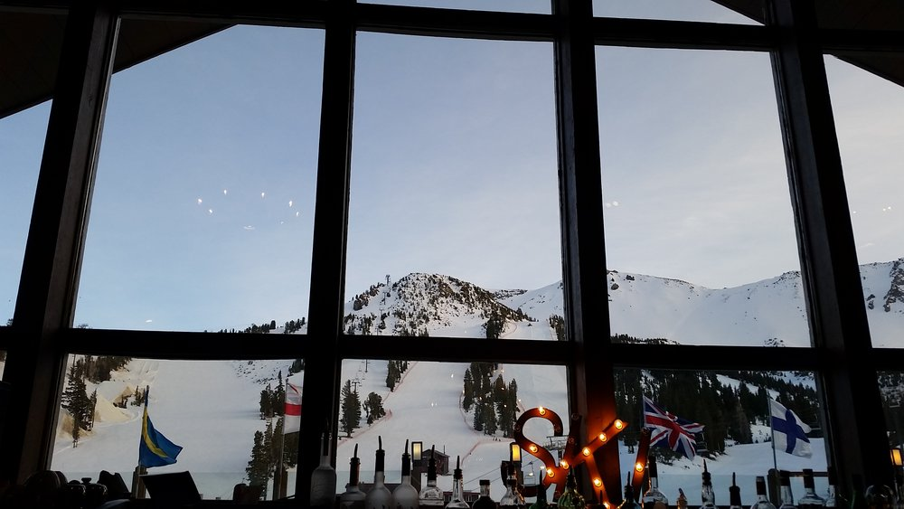 Dry Creek Bar at Mammoth Mountain Inn serves up a mean cocktail with a view to match. - © Heather B. Fried
