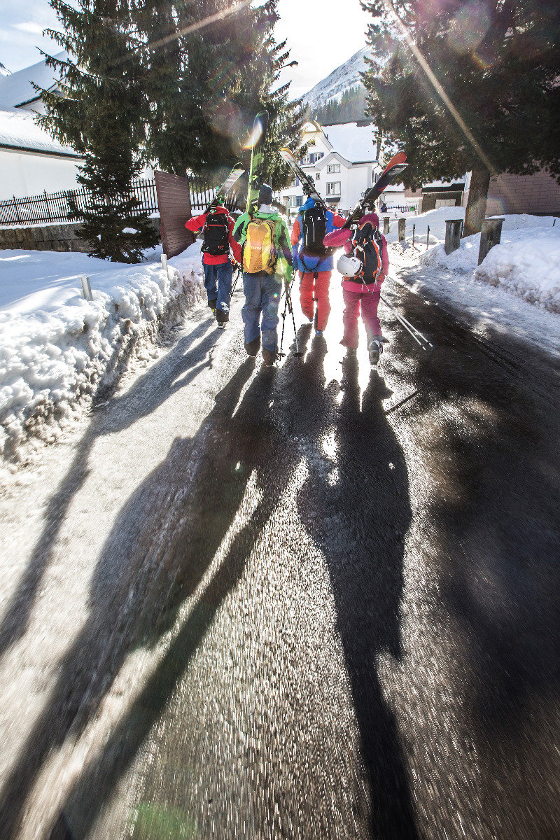 Unsere Freeride-Gruppe in Andermatt - © Christoph Jorda | www.christophjorda.com