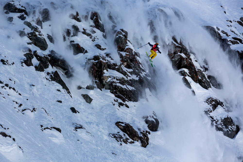 Freeride World Tour Finale Verbier 2015 - © J. Bernard | Freeride World Tour