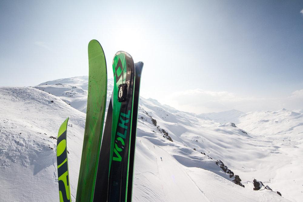 Lyže Völkl RTM sme testovali v Davose - © Skiinfo