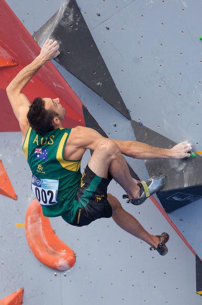 Starker Australier: James Kassay verpasste beim Boulder-Weltcup als Vierter nur knapp das Podest - © Heiko Wilhelm