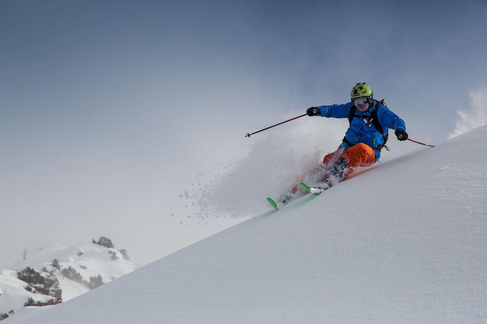 Thomas Röß ist stets schnell unterwegs - ob mit Auto oder auf seinen K2-Latten