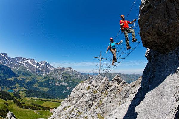 Klettersteig Engelberg : Sicherheit am klettersteig zehn tipps des Österreichischen