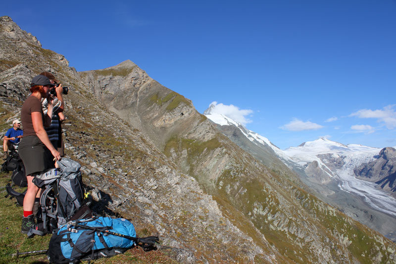 Auf der Stockerscharte - © bergleben.de