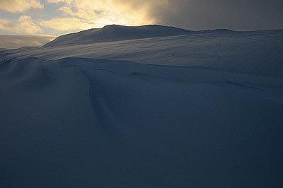 Schneelandschaft - © Hülle