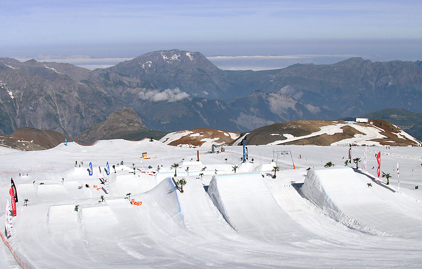 Les 2 Alpes, Frankrig - © Les 2 Alpes Tourisme