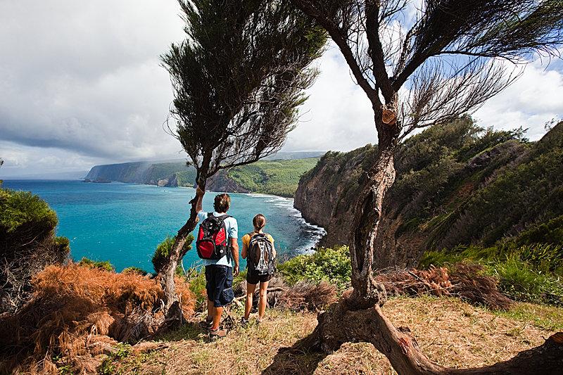 Die Hamakua Klippen - © Hawaii Tourism Authority (HTA) / Tor Johnson