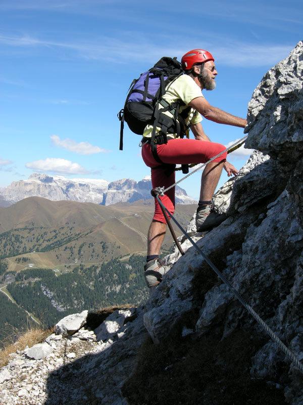 Eugen Hüsler - der Klettersteigpapst - © Eugen Hüsler