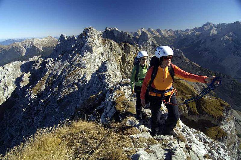 Klettersteig Mittenwald - © Wolfgang Ehn