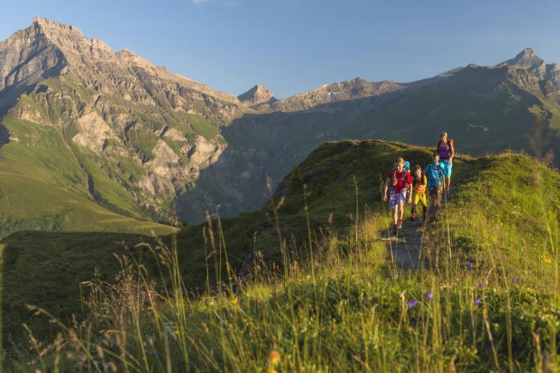 Am Glasergrat - © Graubünden Ferien & Geo-Tracks