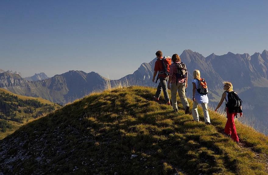 Sardona-Welterbe Weg - © Graubünden Ferien