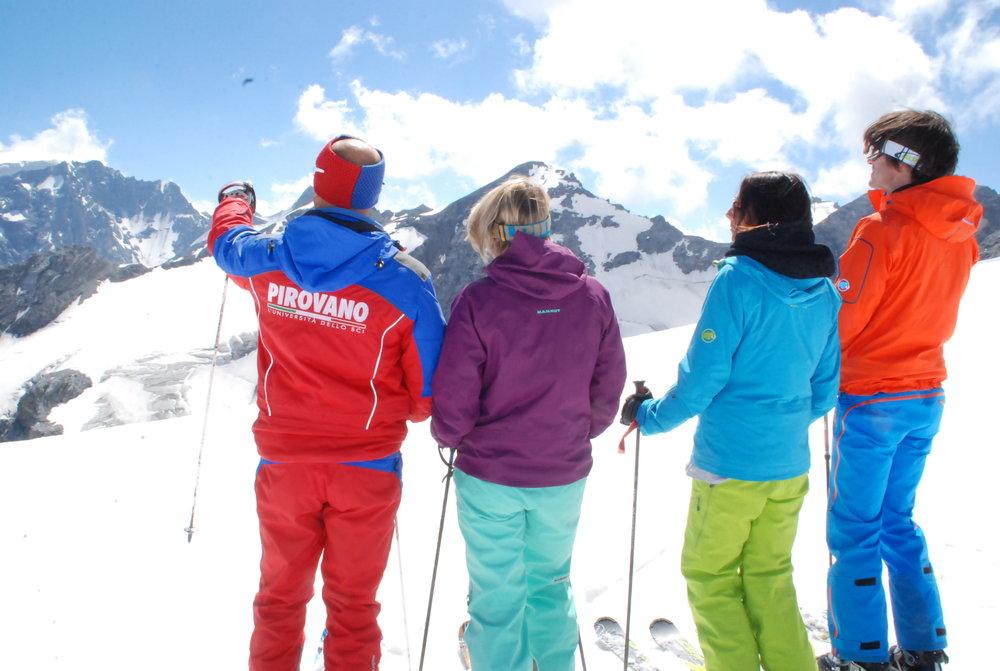 Passo Stelvio Pirovano, maestri di sci