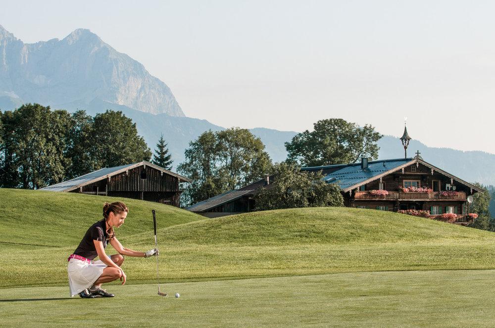 Golfen in Kitzbühel - ©Kitzbühel Tourismus