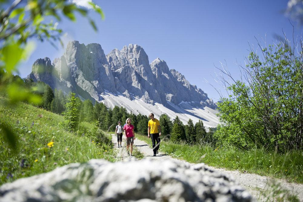 Wandern in Vilnöß im Eisacktal - ©Tourismusverband Eisacktal / Alex Filz