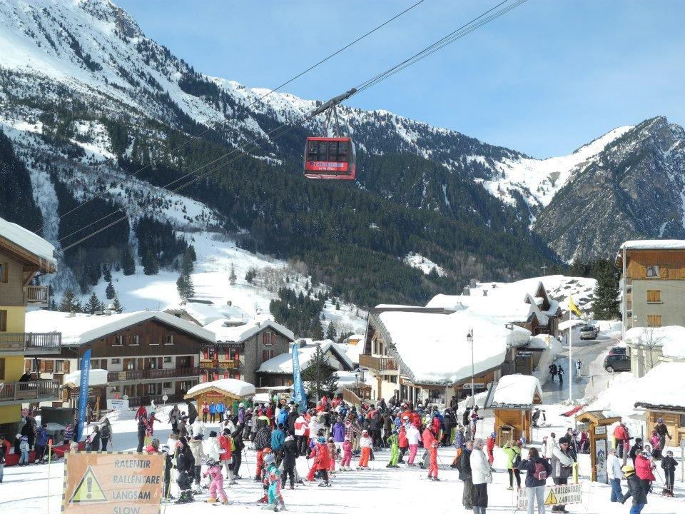 Le front de neige de Pralognan la Vanoise - © Office de Tourisme de Pralognan la Vanoise