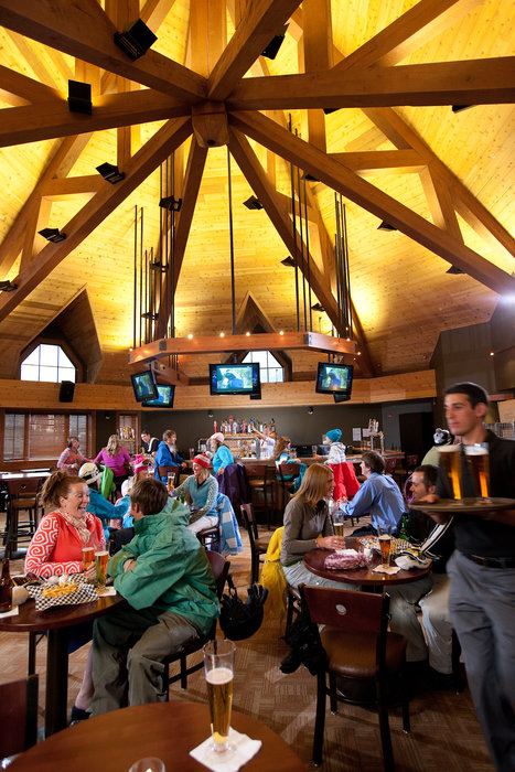 With more than 30 bars, pubs and restaurants on Main Street, Breckenridge Ski Resort boasts nightlife that's just as thrilling as a run down the Colorado slopes. - © Breckenridge