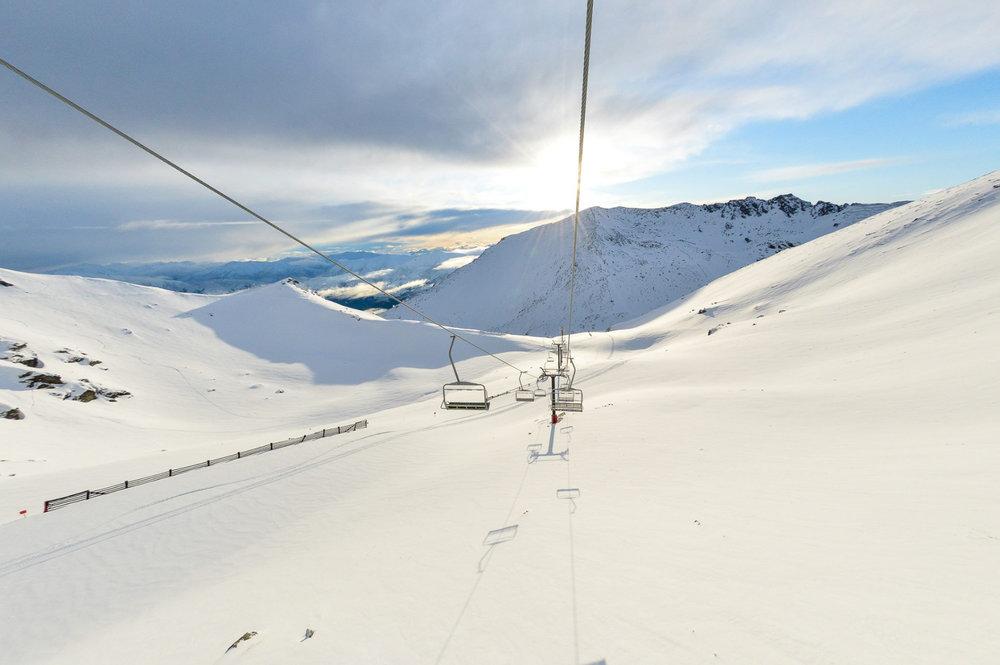 Im Skigebiet The Remarkables auf Neuseelands Südinsel (7. August 2015) - © The Remarkables