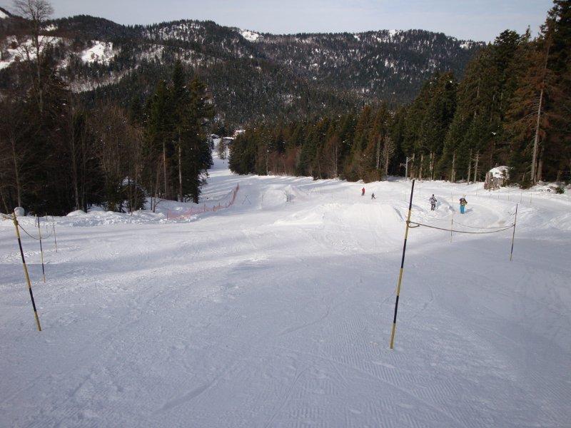 Le Snowpark du Col de Porte - © Station de ski du Col de Porte