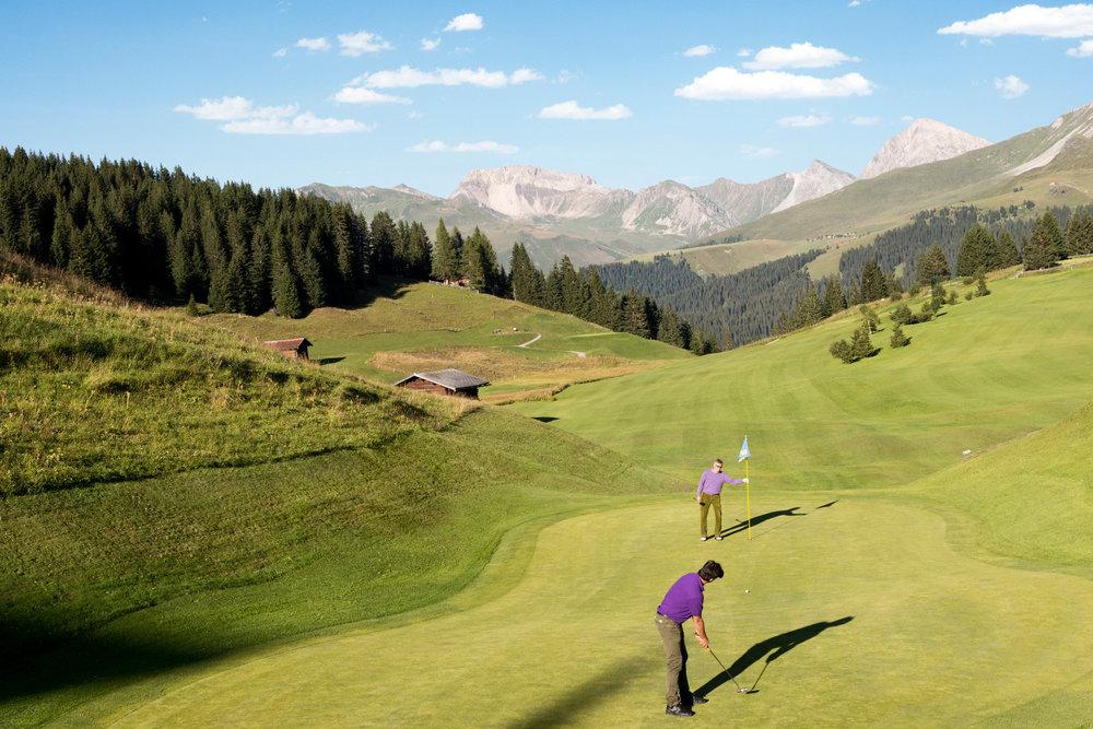Golfplatz Arosa - © Graubünden Ferien | Alfonso Smith