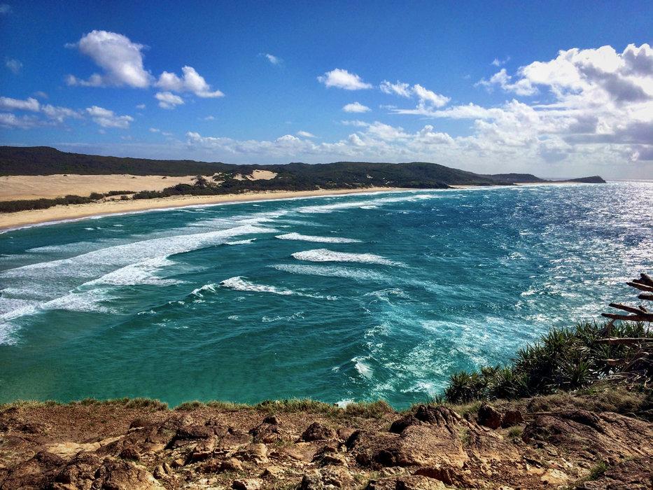 Indian Head - ein beliebter Aussichtspunkt der Insel Fraser Island - © Julia Mohr   Florian Reuter