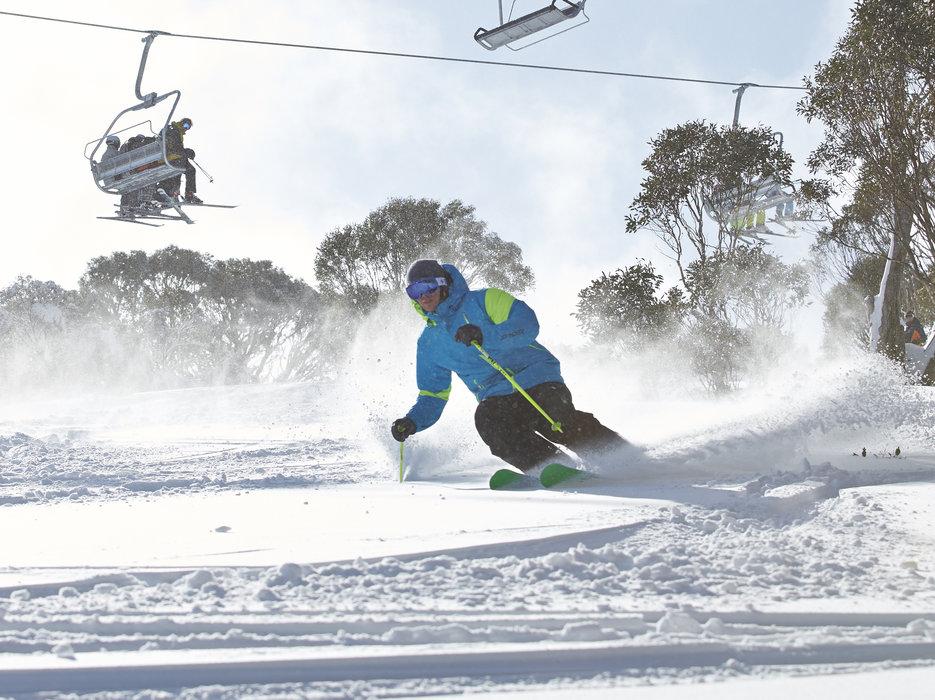Perisher er Australias største skisenter.