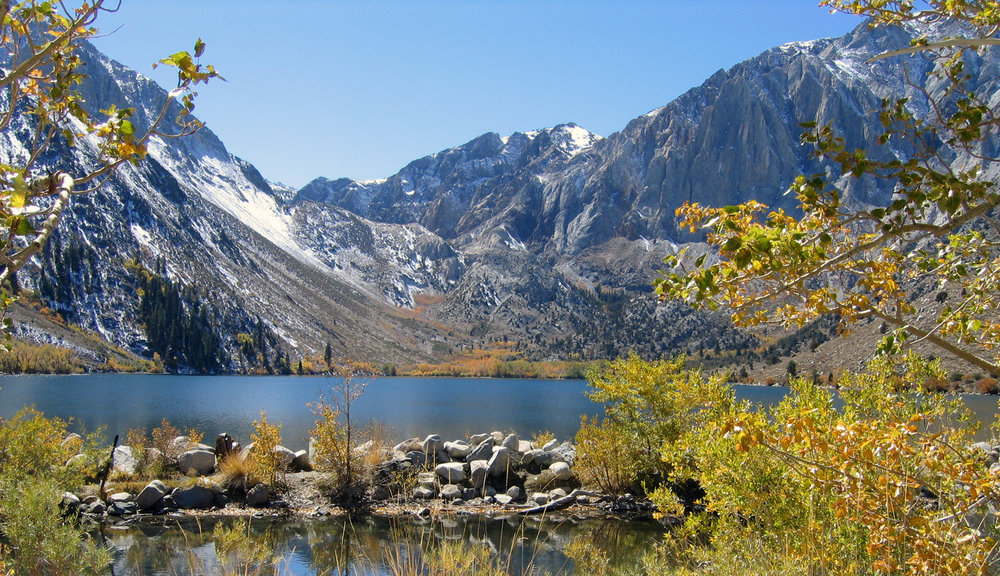 Convict Lake near Mammoth Mountain, CA.