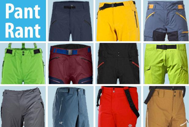 2015/2016 Men's Ski Pants Buyers' Guide