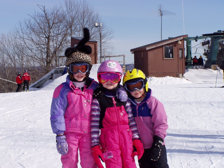 Kate, Elle and Bella at Wild Mountain, MN