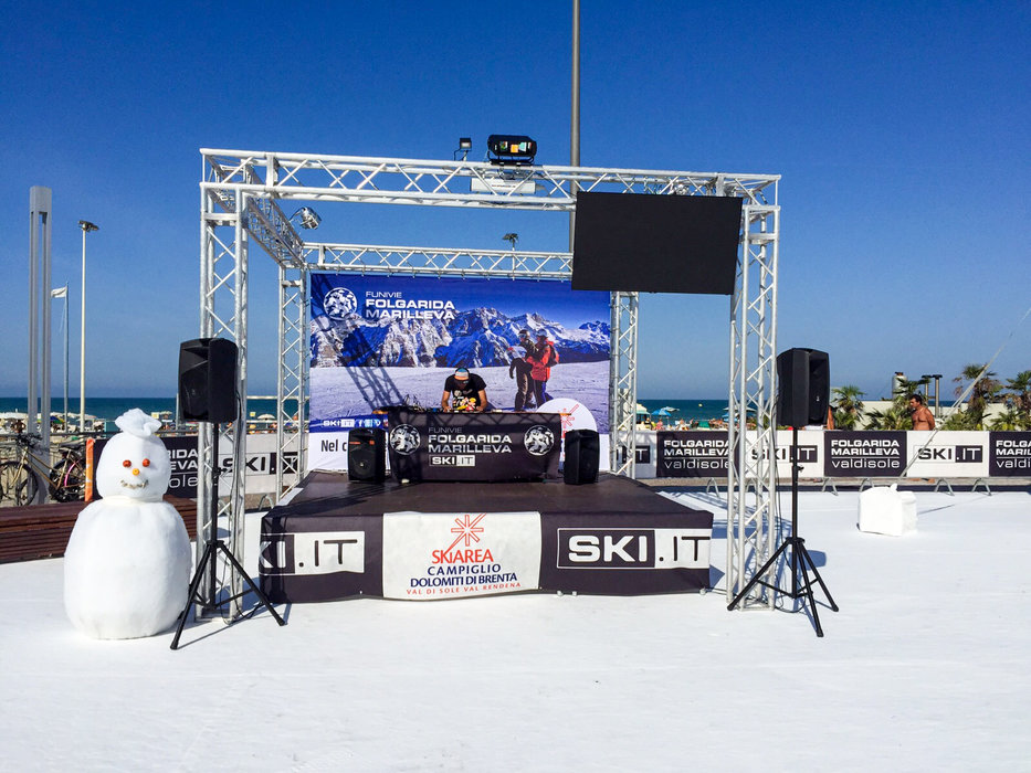 Ski.it Village - Riccione 2015 - © Funivie Folgarida Marilleva