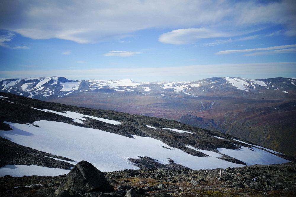 Er du lei av skikjøring kan du ta en pause mens du har verdens fineste utsikt. - © Eirik Aspaas