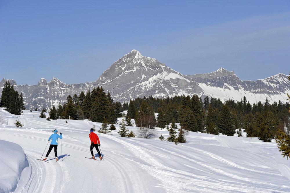 La station des Saisies est un haut lieu du ski nordique - © OT des Saisies / Facebook