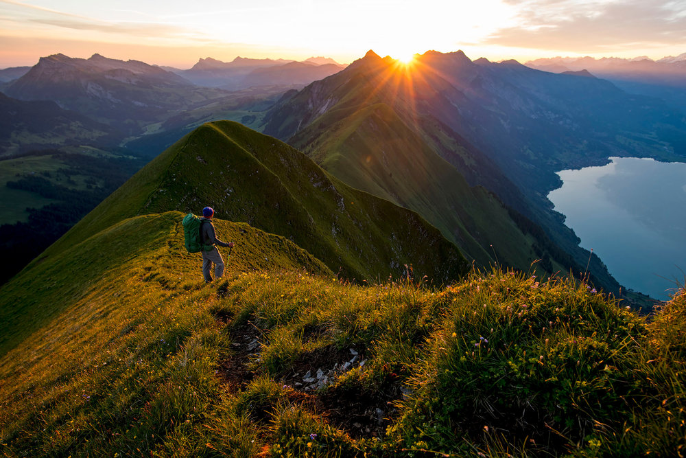 Early bird on Hardergrat - © VAUDE Visions | Michael Neumann