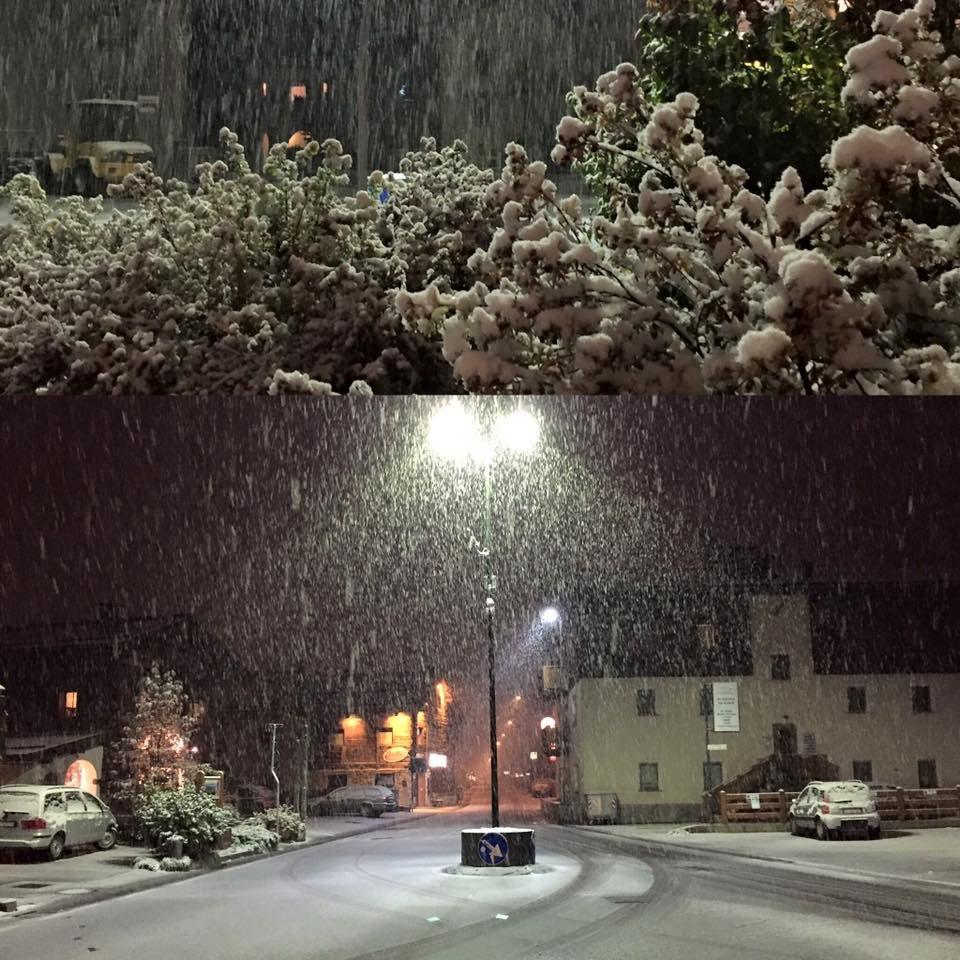 Livigno, neve fresca 15.10.15 - © Mottolino Fun Mountain Facebook